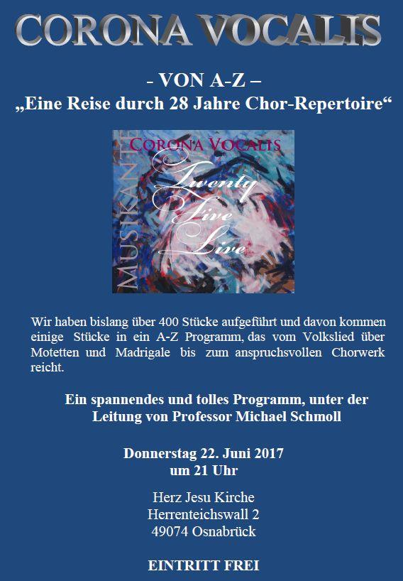 PLAKAT A bis Z JUNI 17 Osnabrück